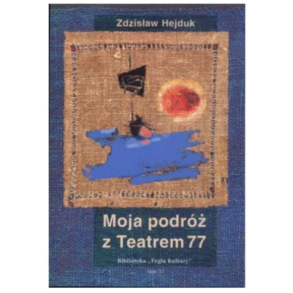 """Hejduk Zdzisław, """"Moja podróż z Teatrem 77"""""""